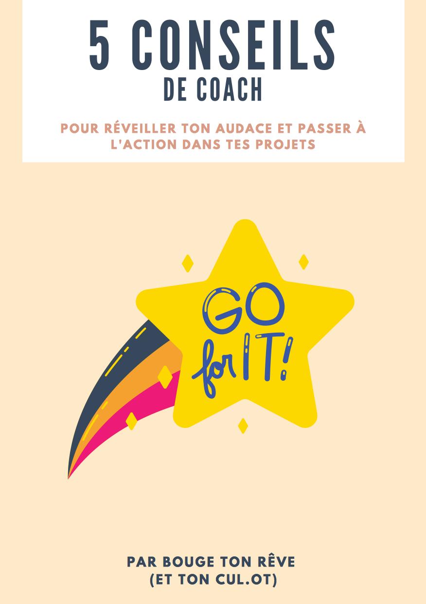 Ebook conseils de coach